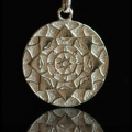 Lotus Shield - Silver/Silver Plated